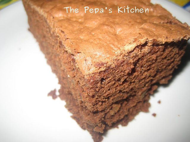 brownie con nueces thermomix