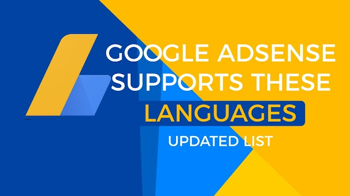 Các ngôn ngữ Google AdSense hỗ trợ