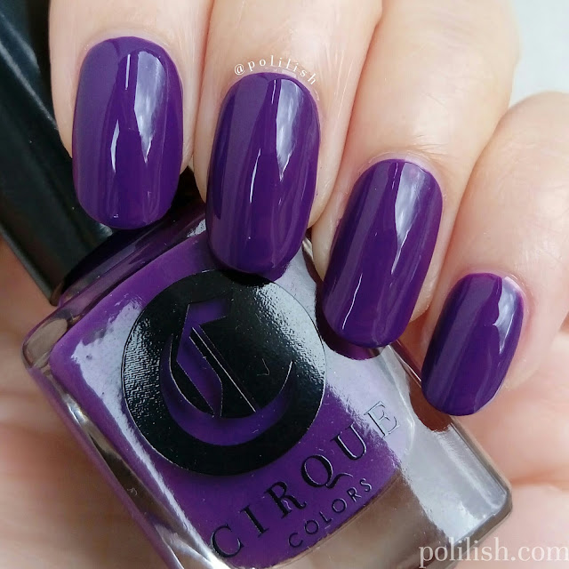 Cirque Colors 'Chelsea Girl', swatch by polilish