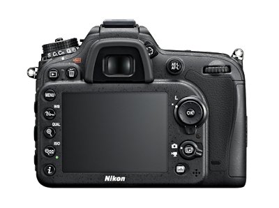 Mi nueva Nikon D7100 desde atrás