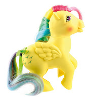 My Little Pony 35th Anniversary Retro G1 Skydancer