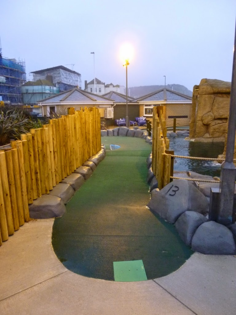 Hole 13 at Hastings Adventure Golf course (Feb 2015)