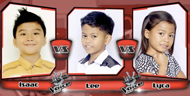 Lyca Won Over Isaac and Lee on The Sing-offs for The Voice Kids Philippines