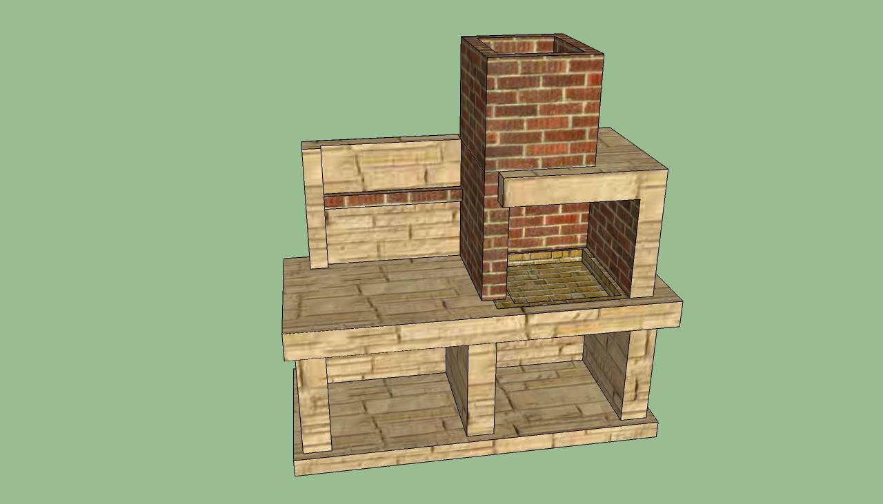 Brick Driveway Image: Brick Bbq Designs