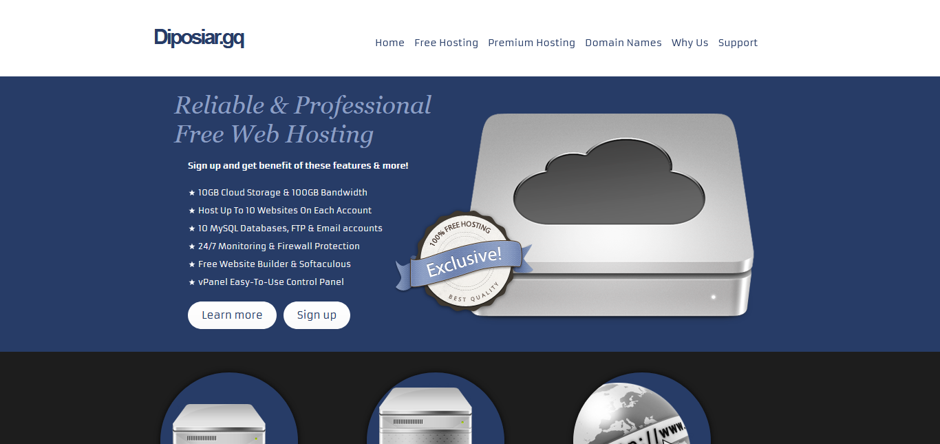 dipoSiar Free Hosting Review