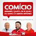 Hélio convida você para comício na noite desta quarta-feira (28), no bairro Santo Antônio. Divulgue e participe...