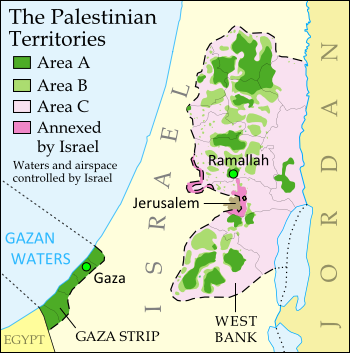 Political Geography Now: israel
