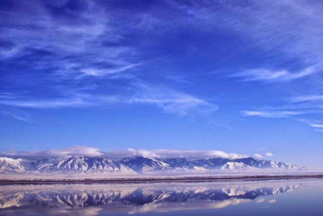The Great Salt Lake, Utah