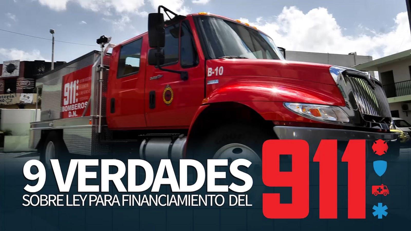 Nueve verdades sobre ley financiamiento 911