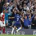 #Chelsea le ganó el derbi en el final al #Arsenal y es puntero