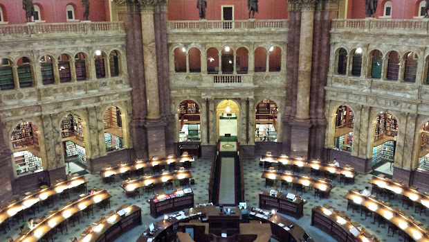 Library of Congress Reading Room Card