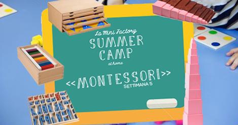Summer camp montessori la mini factory - Porta libri montessori ...