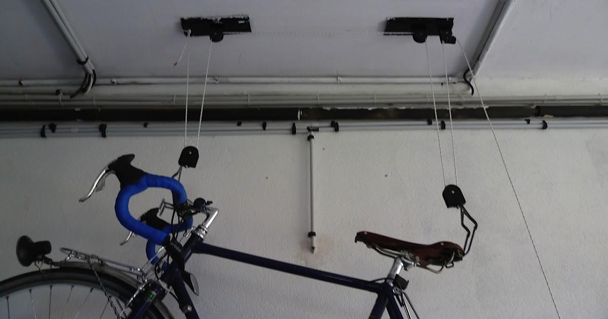 Photos cordages porte v lo drisse polyamide 4mm pour - Porte velo plafond systeme fixation poulie ...