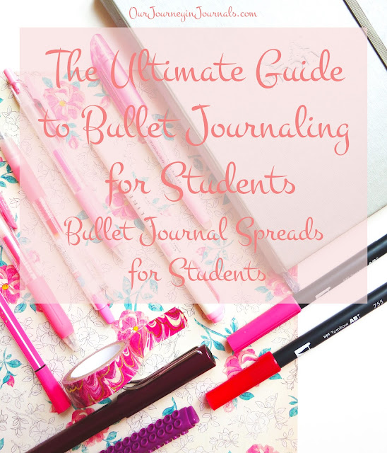 The Ultimate Guide to Bullet Journaling for Students: Bullet Journal Spreads for Students