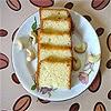Egg less Vanilla Cake