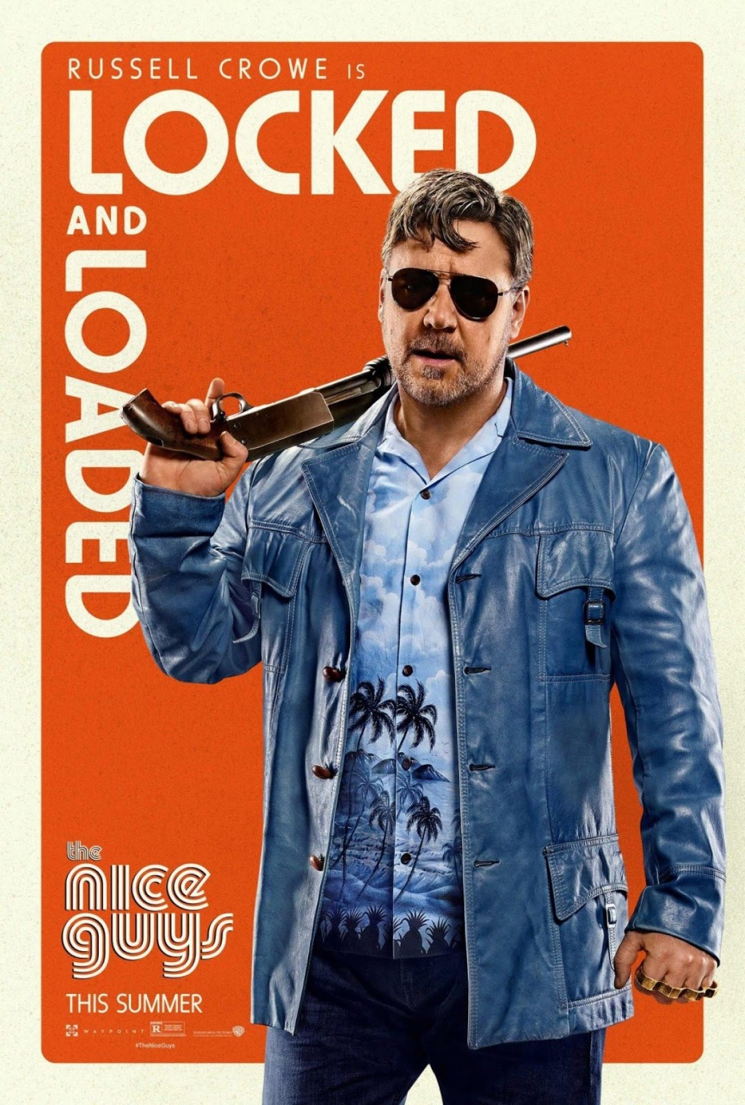 Russell Crowe And Ryan Gosling The Good Guys Movie Posters - Jason Santoro-2440