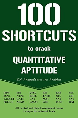 100 Shortcuts to Crack Quantitative Aptitude