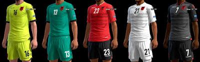 654Kit Albania GDB Euro 2016 Pes 2013