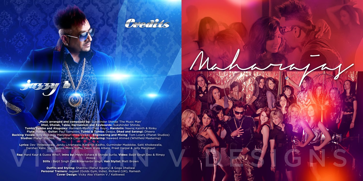 jazzy-b's maharajas HD poster and wallpapers - Exclusive Punjabi Videos and Music