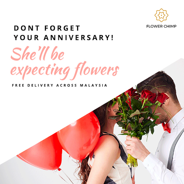 Don't forget your anniversary yeah!