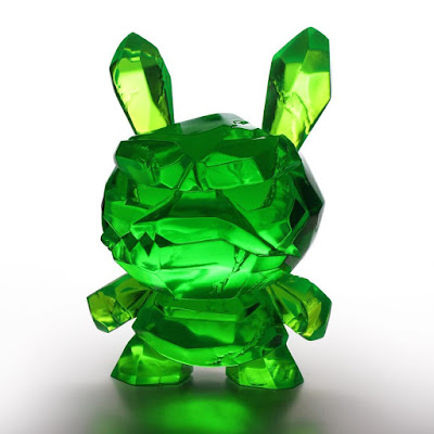 Designer Con 2017 Exclusive Kryptonite Shard Dunny Resin Figure by Scott Tolleson x Kidrobot