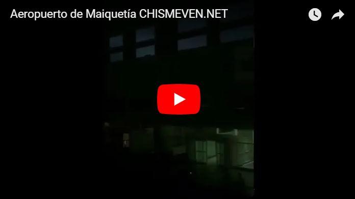 Régimen logró desaparecer el descuido y la suciedad que reina en el Aeropuerto de Maiquetía