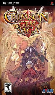 Crimson Gem Saga PSP GAME
