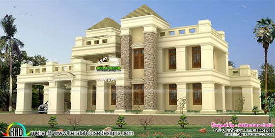 399 sq-m luxury colonial home