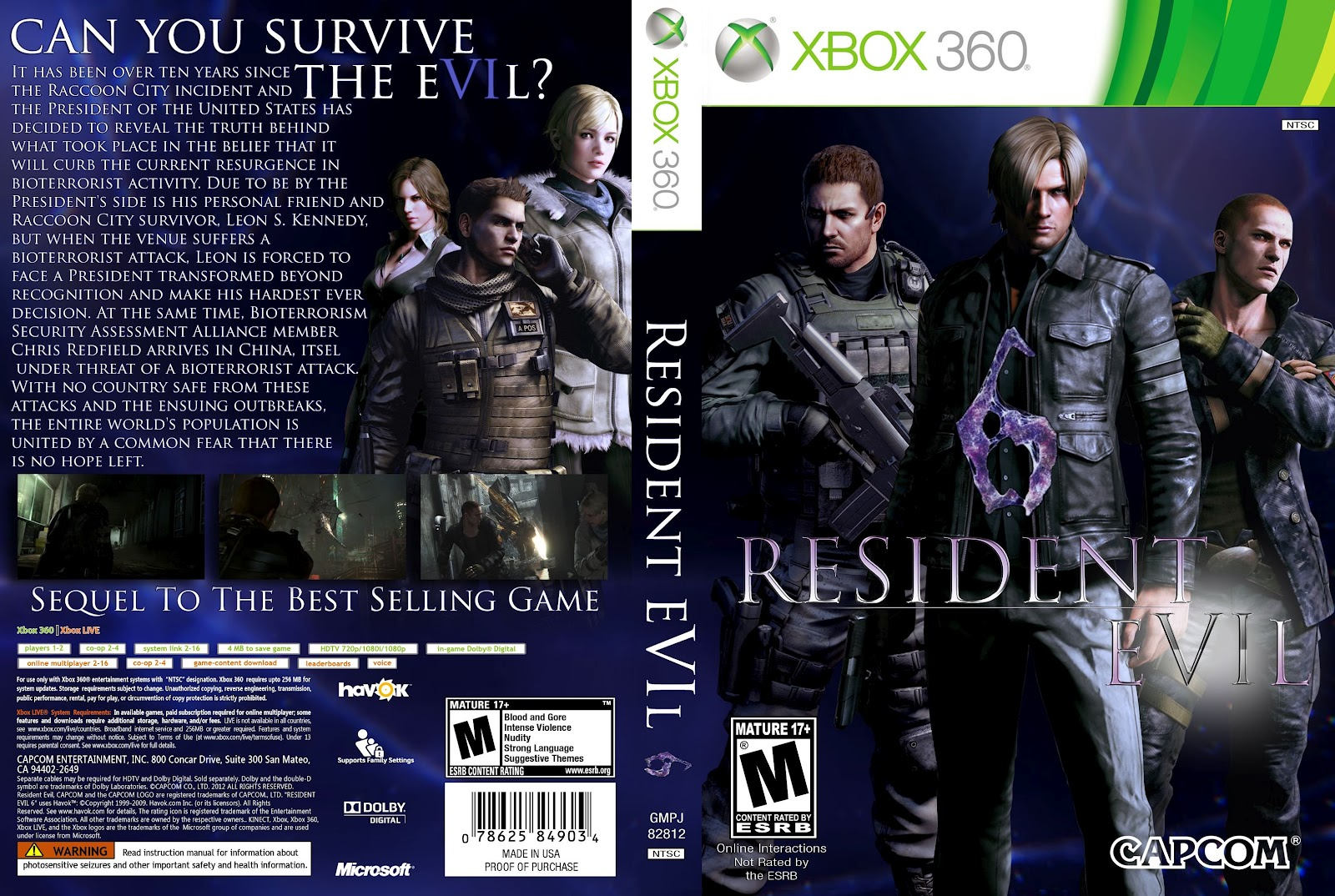 Resident evil 6 demo release for xbox 360 : Date of birth of tamil