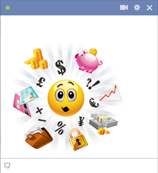 Money Facebook Emoticon