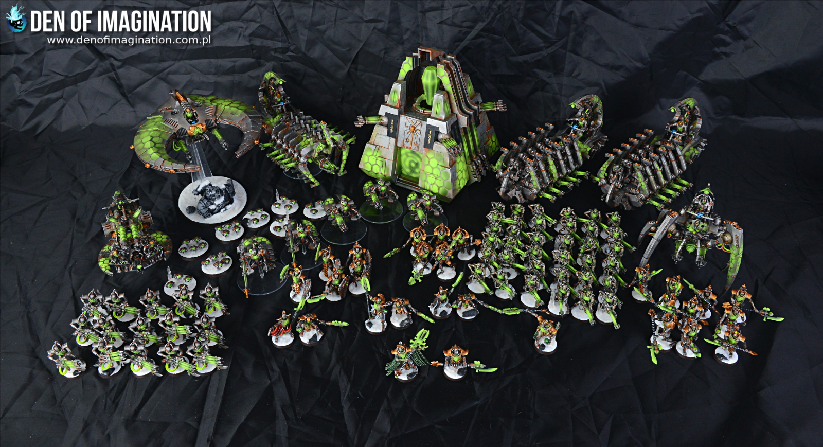 Blog Metallic Rusty Necrons