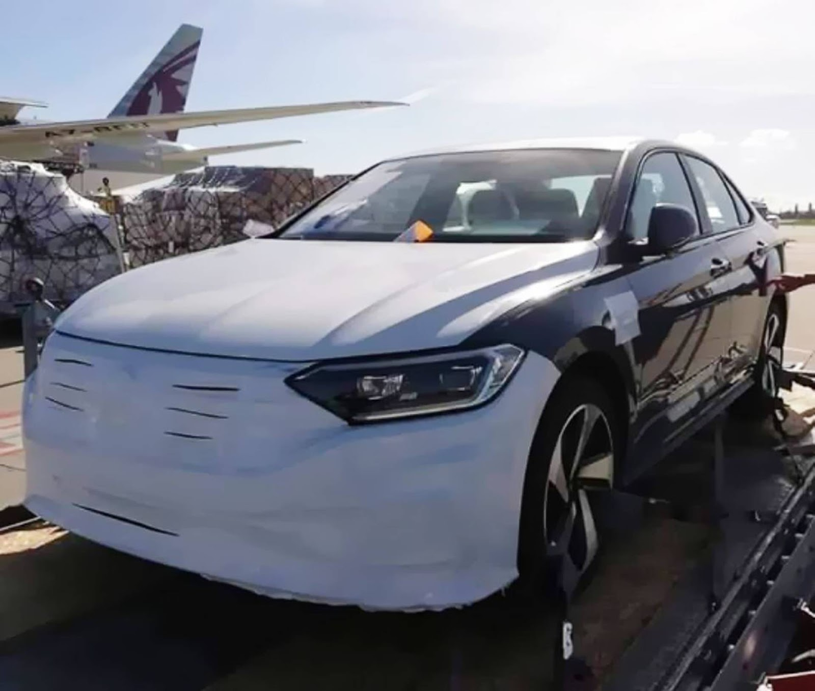 Novo VW Jetta 2.0 TSI 2020 é Flagrado No México
