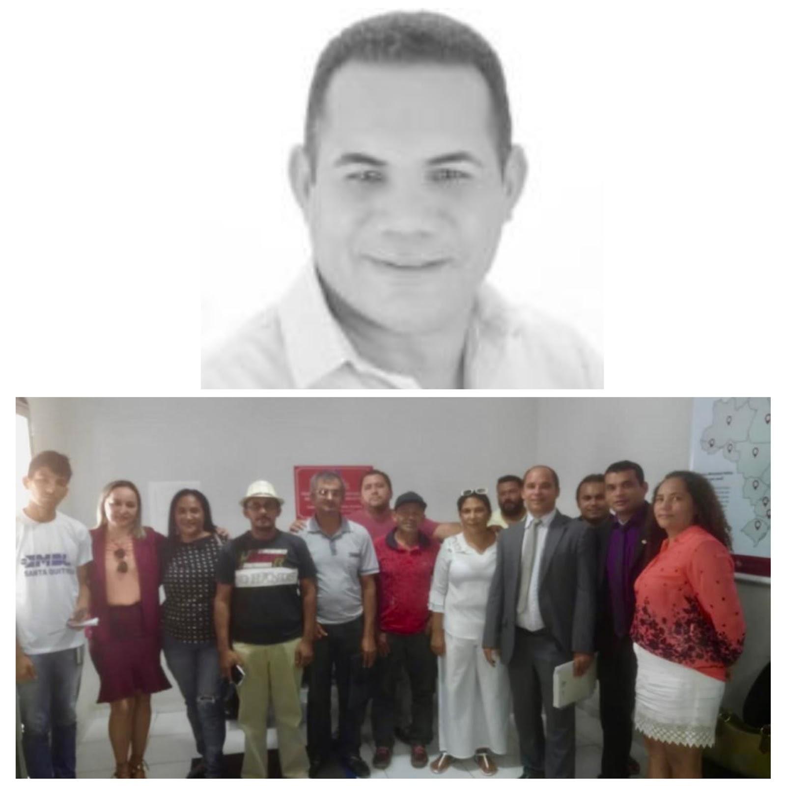 Impeachment do prefeito de Santa Quitéria do Maranhão é protocolado na Câmara de Vereadores.