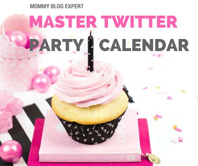 Twitter Party Facebook Live Calendar