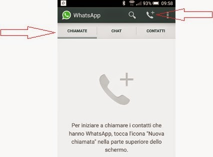 come telefonare con whatsapp
