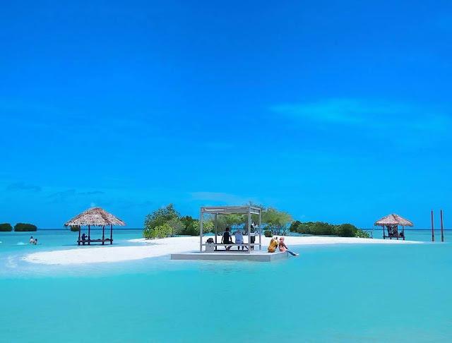 pantai pasir perawan kepulauan seribu