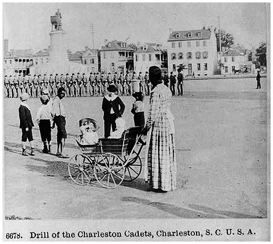 Drill of the Charleston Cadets, 1891