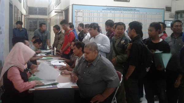 pendaftar calon anggota ppk di majalengka membludak