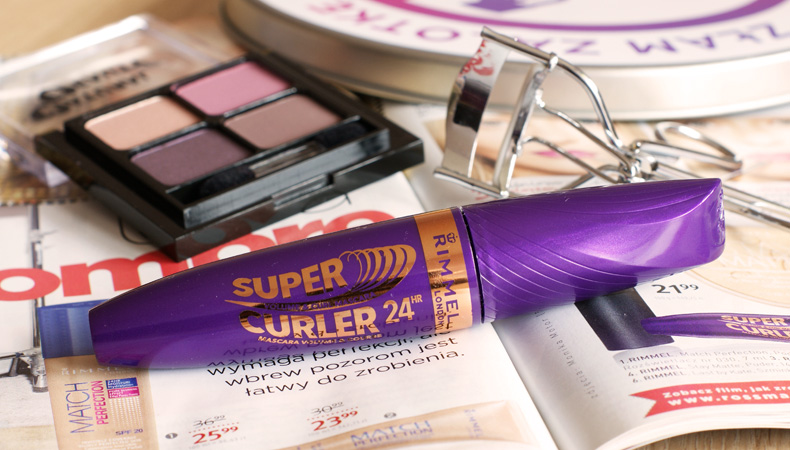 rimmel tusz do rzęs super curler