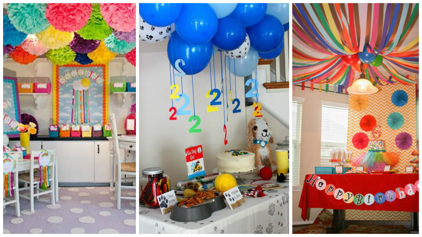9 ideas espectaculares para decorar techos para fiestas On decoracion techos infantiles