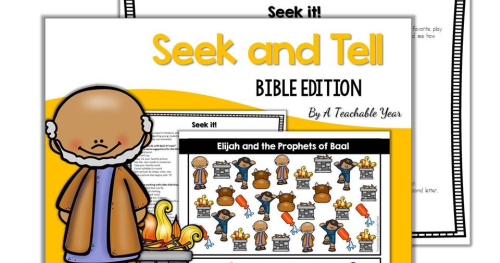 Seek And Tell Bible Edition A Teachable Year
