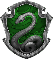 Hogwarts Slytherin House Crest, Harry Potter