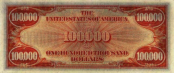 $100,000 Gold Certificate 1934 Real or Fake? | Some Interesting