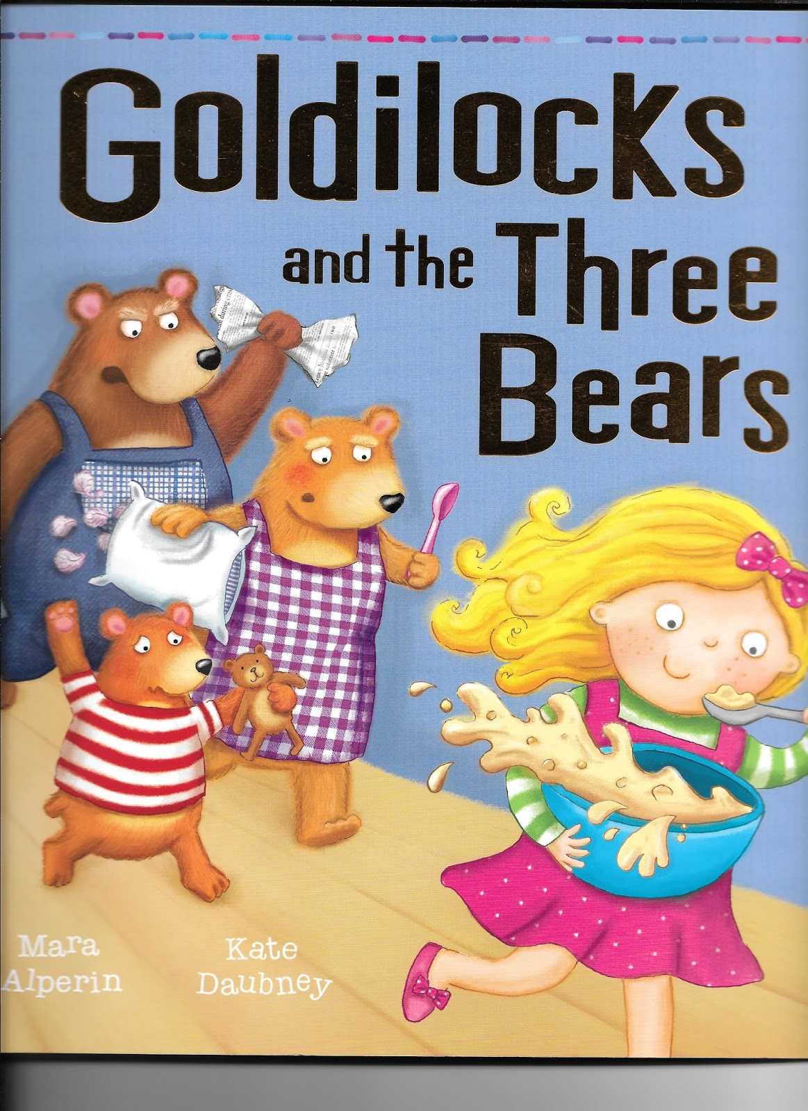 Little English Pantry Goldilocks And The Three Bears