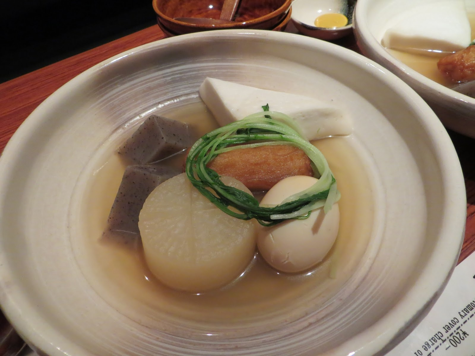 Japanese food, oden, must do tokyo, Japan