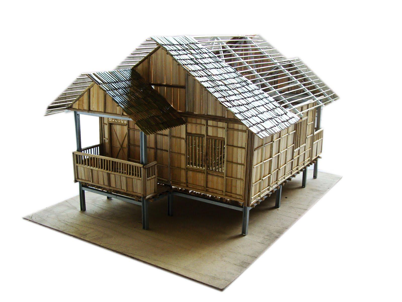 9600 Gambar Macam Rumah Bambu Terbaru