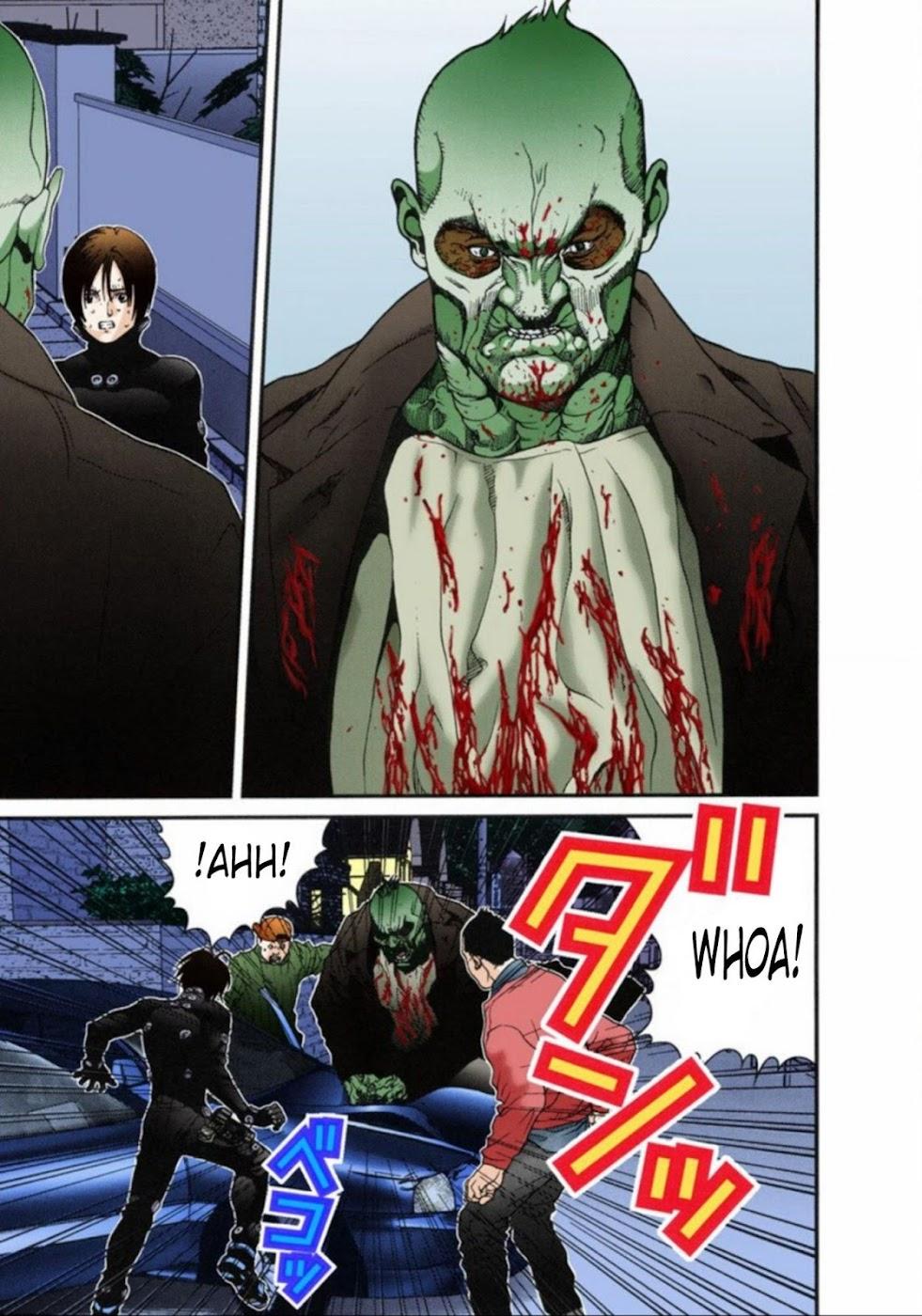 Gantz Chap 14: Không sợ trang 7