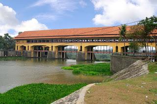 Bendungan Walahar Padati Objek Wisata Di Karawang