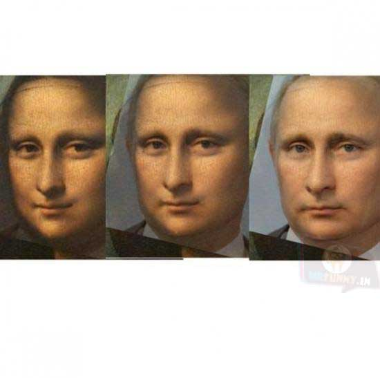Wait a minute! Mona Putin