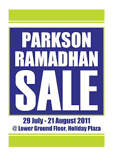 bb14350eb Parkson Ramadhan Sales (29 July - 21 August)